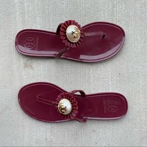▪️Tory Burch▪️Melody Pearly Flat Thong Sandal